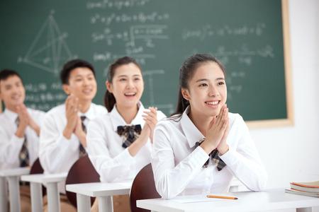 High school students Stok Fotoğraf
