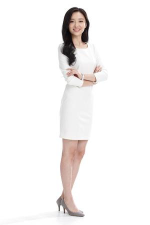 Young business woman Standard-Bild