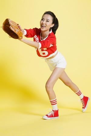 young womens: Young womens baseball