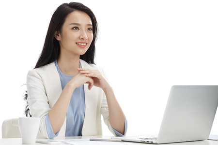 oriental ethnicity: Young women in business