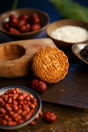 basic food: moon cake