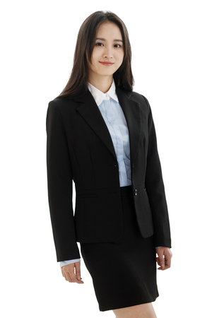 asia women: Young business woman Stock Photo