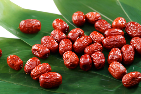 Bamboo leaves and jujube