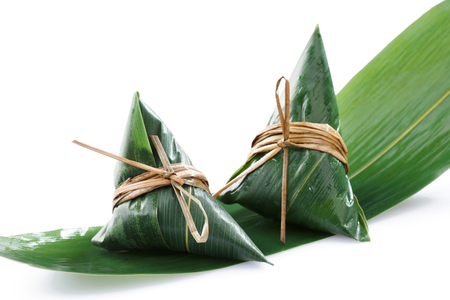 Traditionnelle chinoise zongzi Banque d'images - 76863192