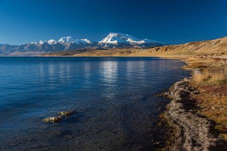 Tibet Alima near Yumco lake scenery