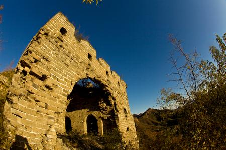 hebei: The Great Wall, Qinhuangdao, Hebei Stock Photo