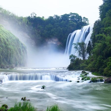 Huangguoshu Waterall in Guizhou Province Stok Fotoğraf