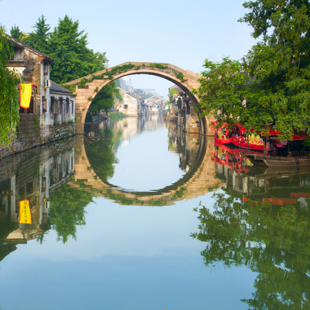 human settlement: Ancient town of Huzhou, Nanxun, Zhejiang