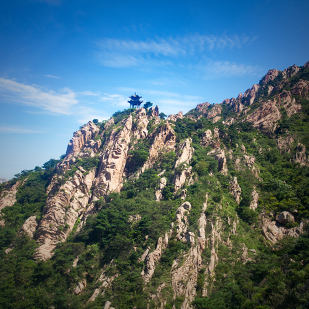 Tianma Island Scenic Spot, Linyi, Shandong Stock Photo