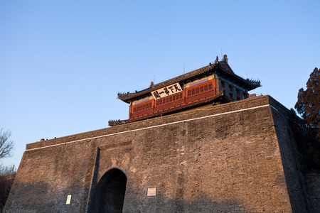 The first pass of Qinhuangdao in Hebei Province