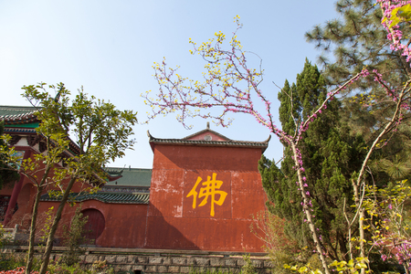 Jiangxi province Yichun City Dayu Temple Stock Photo