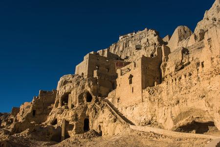 Tibet Zanda County Guge ruins of Wangcheng Ali