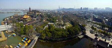si: Jinshan Temple, Jiangsu, Zhenjiang Stock Photo