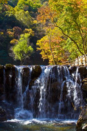 Dashi lake scenery, Benxi County, Liaoning Province Stock Photo