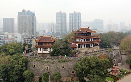 Pabellón de Tianxin, Hunan, Changsha Foto de archivo - 81476440