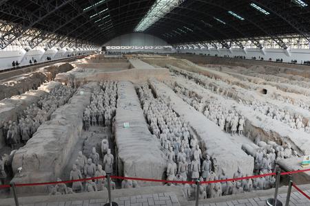 human likeness: Qin Shihuang Terracotta Army, Xian, Shaanxi Editorial