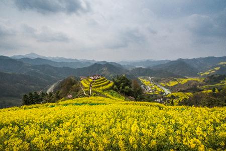 Anhui province Huangshan City Shexian sokdam village scenery Stock Photo