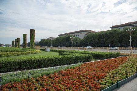 北京の天安門広場