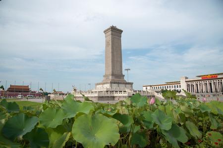 北京の民衆英雄像
