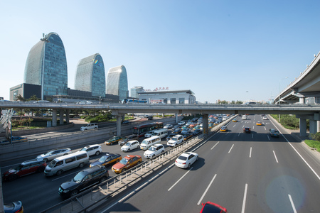 Beijing urban architecture Editorial