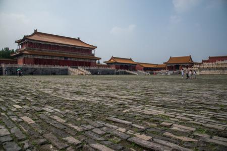 Beijing Forbidden City Editorial
