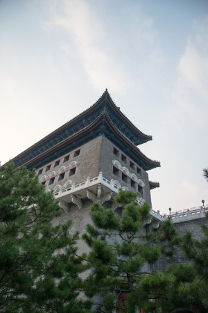 Beijing front gate tower