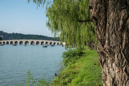 The Summer Palace lake, Beijing, Kunming