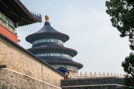 Beijing Tiantan park Editorial
