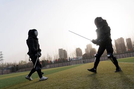 Fencing sports at campus