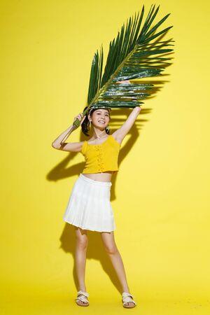 Happy young woman Standard-Bild