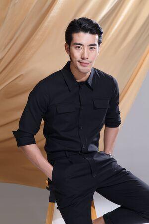 Fashion young man Banco de Imagens