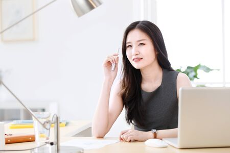 Business women in offices