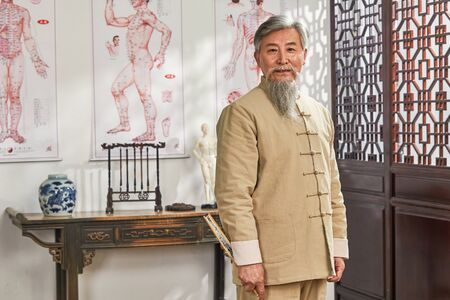 old traditional Chinese doctor