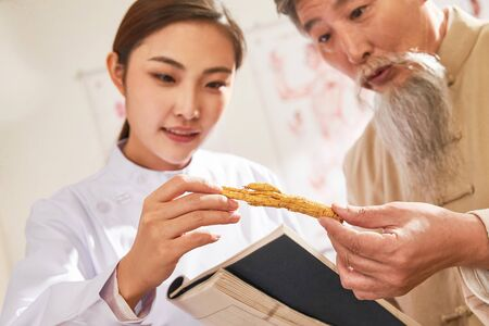 Old to young doctor of traditional Chinese medicine native medicine ingredient
