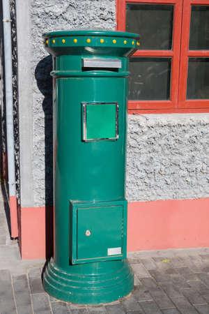 retro postbox Archivio Fotografico