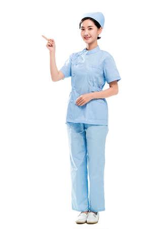 A young female nurses portrait