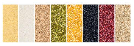 Grain composite tile contrast display Stock fotó