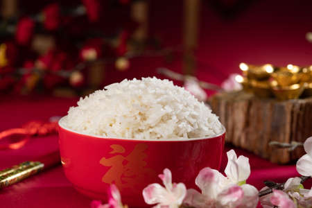 Chinese traditional characteristics of rice