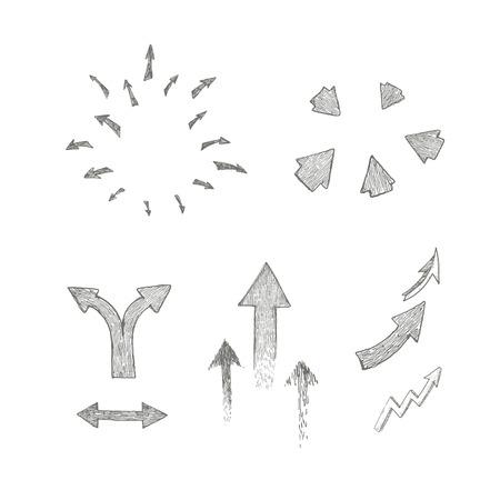 disperse: arrow