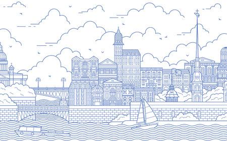 saint-petersburg Illustration