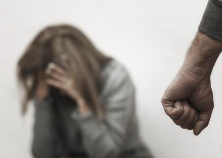 Sexual harassment , stop violence against Women, international women's day,bondage ,Violence Foto de archivo