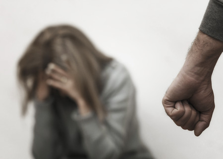 Sexual harassment , stop violence against Women, international women's day,bondage ,Violence Standard-Bild