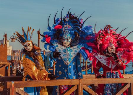 People in masks and costumes Sajtókép