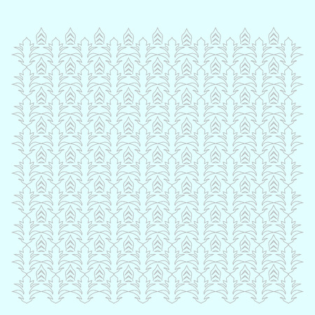 ilustration and painting: white floral pattern on a white background Illustration