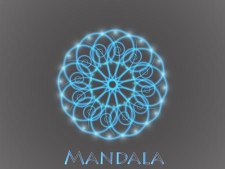 Mandala Ornament Pattern. Archivio Fotografico - 96844895