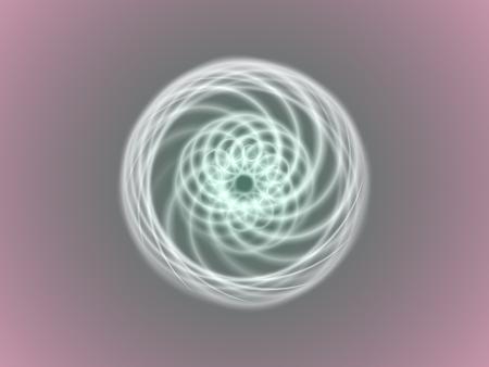 Mandala, round ornament pattern illustration.