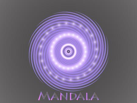 Mandala Ornament Pattern. Archivio Fotografico - 96844898