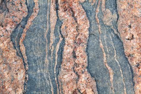 bedrock: Granite stone texture Stock Photo