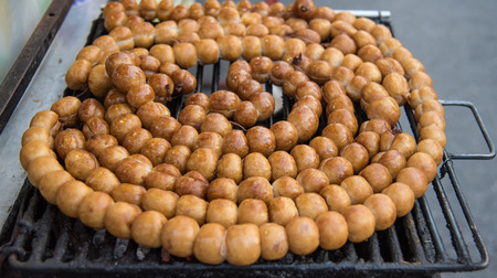 isaan: Thai rice ball sausage