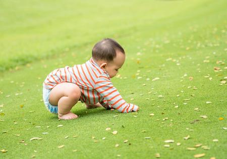 bebe gateando: de arrastre del beb�